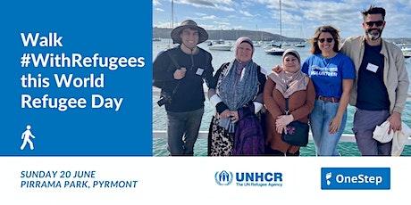 OneStep community walk with UNHCR, Sunday 20 June - Pirrama Park tickets