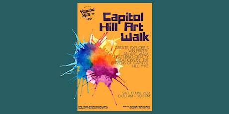 Capitol Hill Neighbour Day Art Walk 2021 tickets