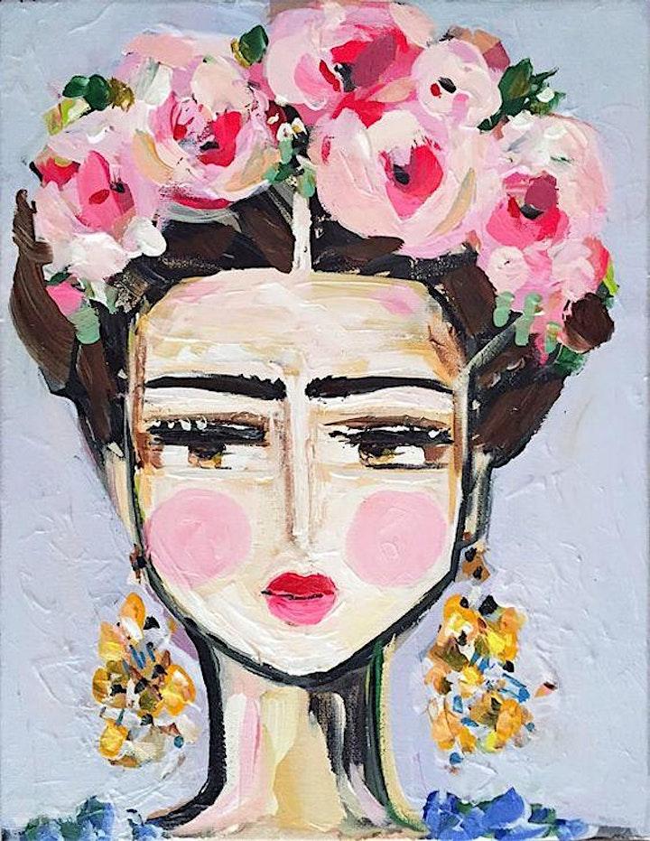 "Paint and Sip Workshop - Friday (""Frida"" Adult Session) image"
