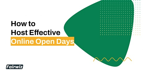 FREE WEBINAR: How to Host Effective Online Open Days (North Europe) tickets