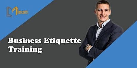 Business Etiquette 1 Day Virtual Live Training in Milton Keynes tickets
