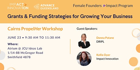 Female Founders Cairns - Grants & Funding Strategies to Grow Your Business tickets