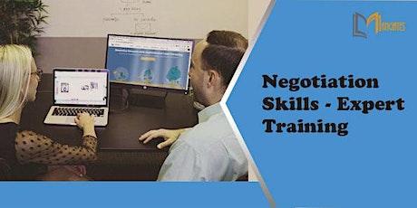 Negotiation Skills - Expert 1 Day Virtual Training in Belfast tickets