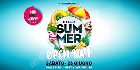 Hello Summer - Open Day biglietti