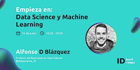 Empieza en: Data Science y Machine Learning entradas