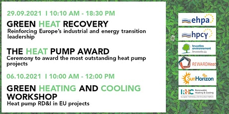 Heat Pump Forum and Award Ceremony / Green Heating & Cooling workshop tickets