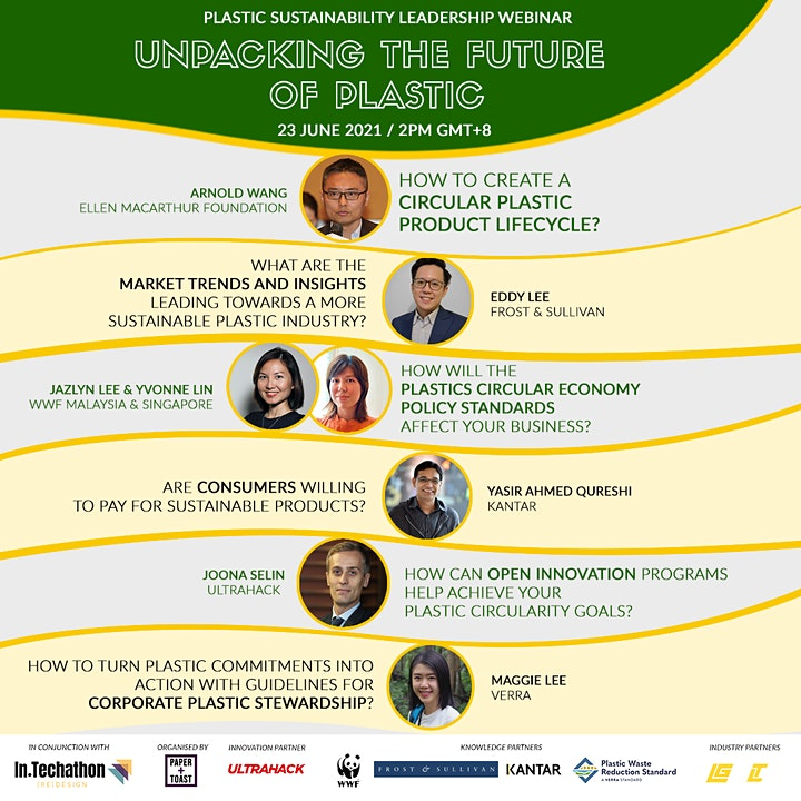Plastic Sustainability Leadership Webinar: Unpacking the Future of Plastic image