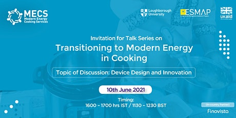 Talk Series  On Transitioning to Modern Energy in Cooking tickets
