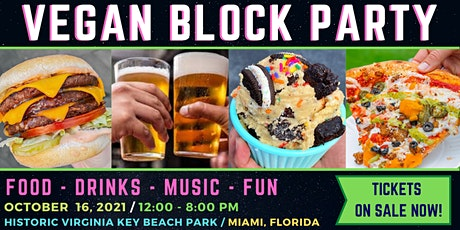 VEGAN BLOCK PARTY tickets