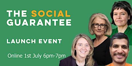 Social Guarantee Launch tickets