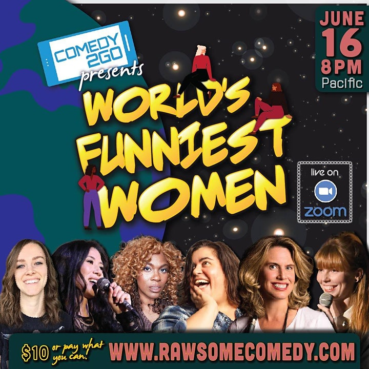 Comedy2Go presents: World's Funniest Women | Live Online Comedy Show image