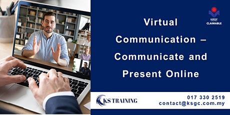 Virtual Communication – Communicate and Present Online [HRDF Claimable[ tickets