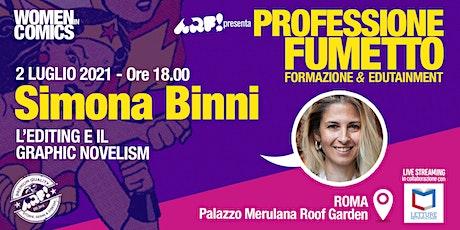 WOMEN IN COMICS · Professione Fumetto: SIMONA BINNI billets