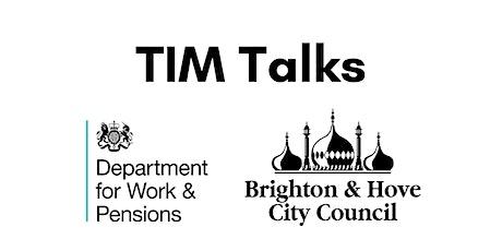 TIM Talks tickets