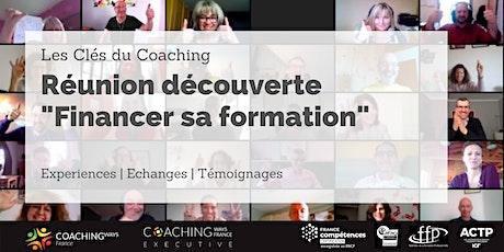 """Réunion de Découverte #9 """" Comment financer sa formation ? """" billets"""
