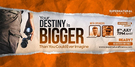 Your Destiny Is Bigger Than You Could Ever Imagine tickets