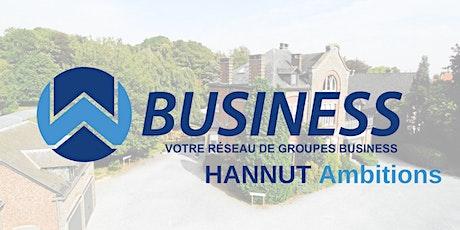 Déjeuner Business Networking WBusiness Hannut Ambitions tickets
