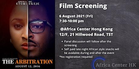 Film Screening | The Arbitration tickets