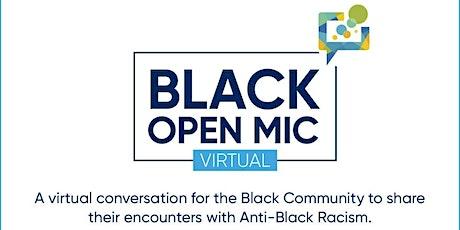 Black Open Mic tickets