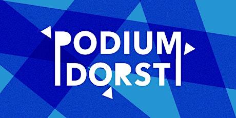Podiumdorst | 12 juli | The World Of Dust tickets