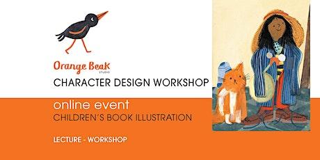 Orange Beak Picture Book Online Character Design Workshop tickets