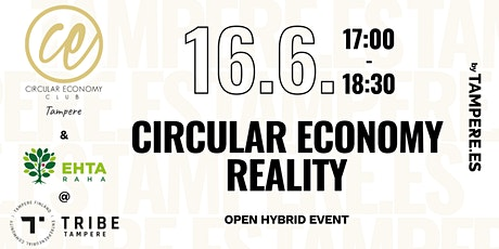 Circular Economy Reality tickets