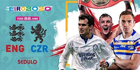 England vs Czech Republic, live with Josh Warrington & Tony Dorigo tickets