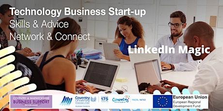 LinkedIn Magic - webinar for Startups tickets