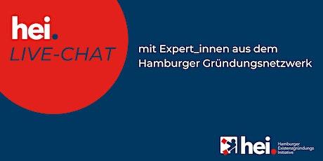 """hei. Live-Chat """"Ein nachhaltiges Unternehmen gründen - worauf kommt's an?"""" Tickets"""