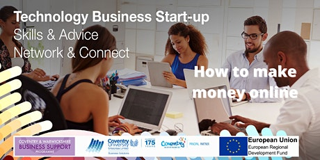How to make money online - webinar for Startups tickets