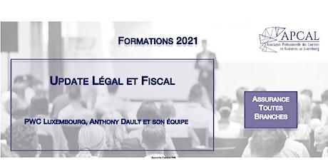 Update Légal et Fiscal par PWC Luxembourg tickets