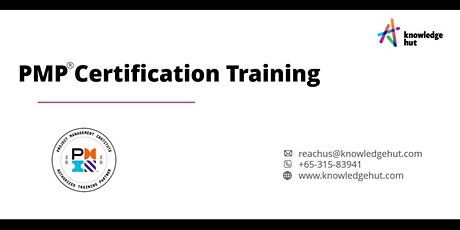 Project Management Professional Certification (PMP®) in Singapore tickets