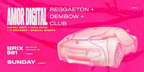 Amor Digital: a Reggaeton Day Party at BRIX 581 tickets