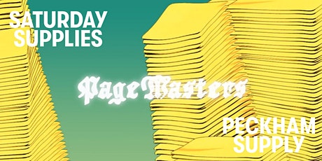 Saturday Supplies: Risograph Printing  With Pagemasters tickets