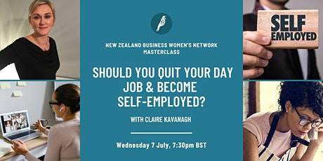 Masterclass: Should you quit your day job & become self-employed? tickets