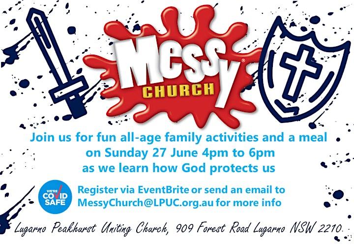 Messy Church at Lugarno NSW image