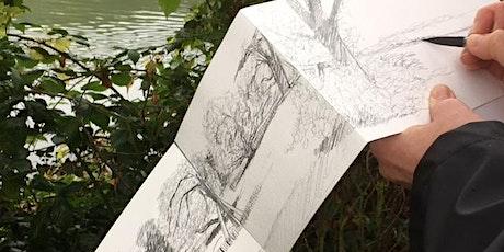 Balade dessinée autour des étangs d'Ixelles biglietti
