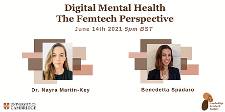 Digital Mental Health: The Femtech Perspective tickets