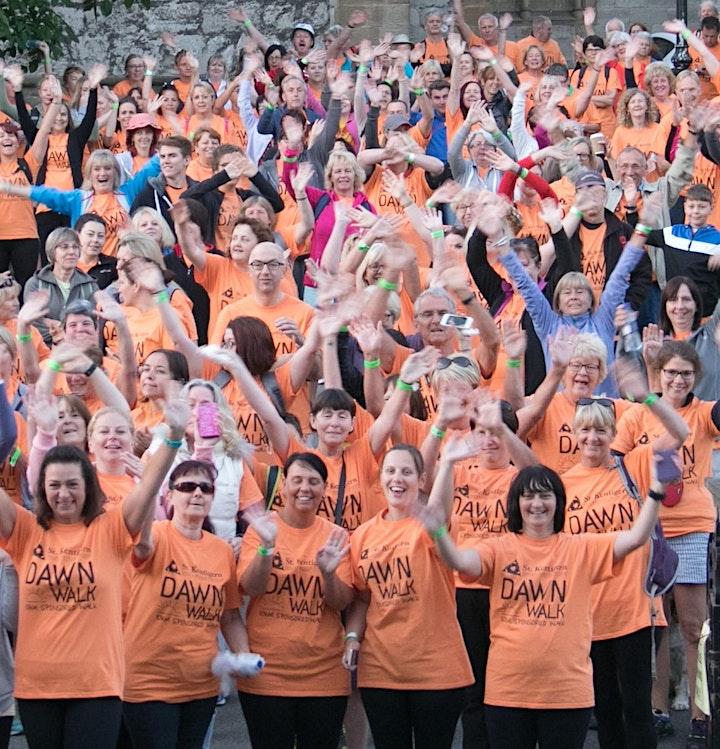St Kentigern Hospice Dawn Walk 2021 image
