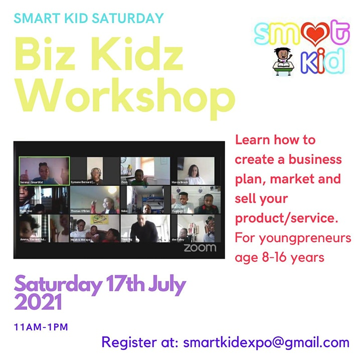 BizKidz for youngprenuers aged 8-16 years old. image