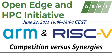 ARM and RISC-V: Competition versus Synergies Tickets