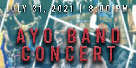 Ayo Band Live Concert tickets