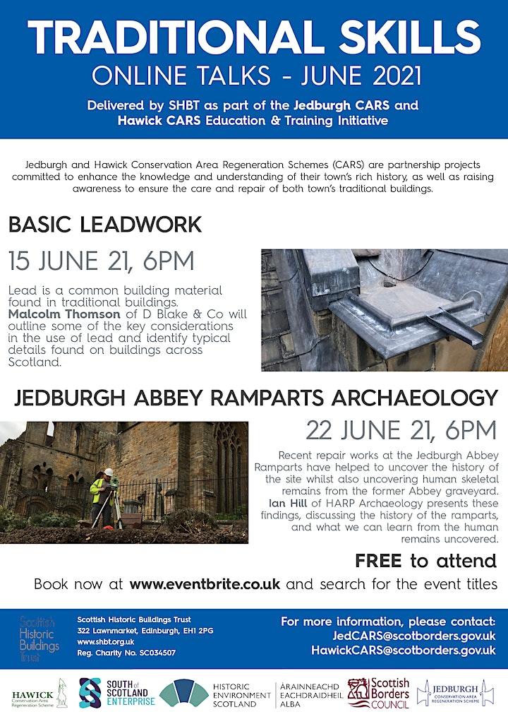 Jedburgh Abbey Archaeology - Jedburgh &Hawick CARS Traditional  Skills image