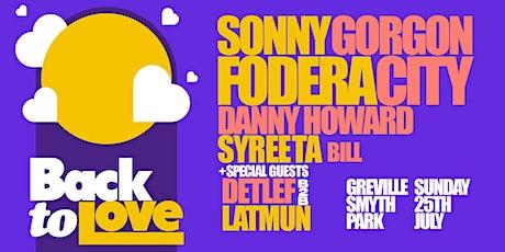 Sonny Fodera & Gorgon City present Back to Love tickets