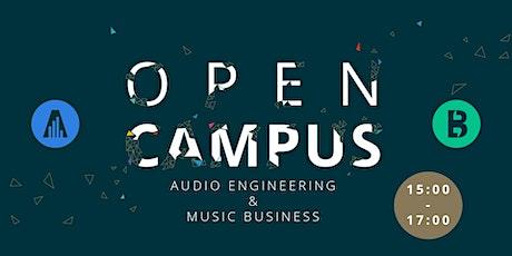 "SAE Institute Wien - ""OPEN CAMPUS DAY"" -  Audio Engineering, Music Business Tickets"