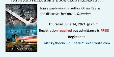 Faith and Fellowship Book Club with author Olivia Rae tickets