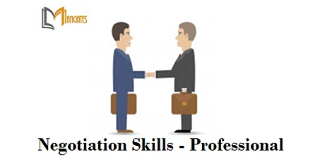 Negotiation Skills - Professional 1 Day Virtual Training in Cork tickets