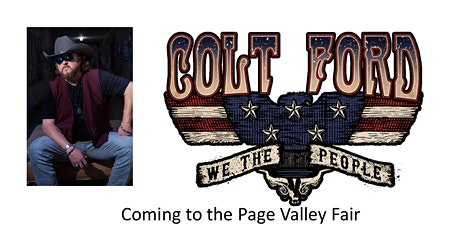 Colt Ford and Confederate Railroad @ the Page Valley Fair tickets