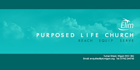 Purposed Life Church Sunday Service Wigan tickets