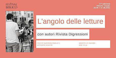 L'ANGOLO DELLE LETTURE biglietti